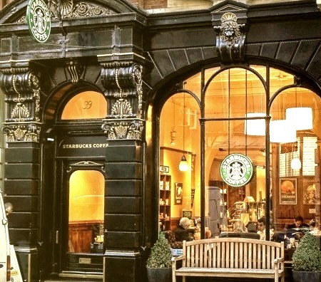 Starbucks, Leicester Square, London