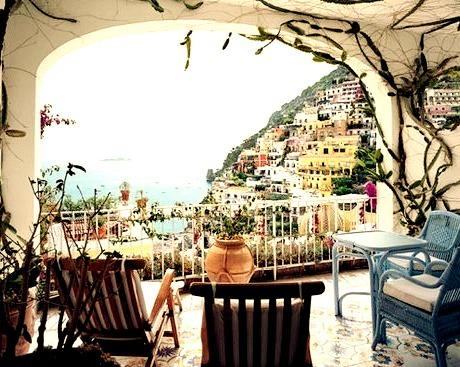 Balcony View, Portofino, Italy