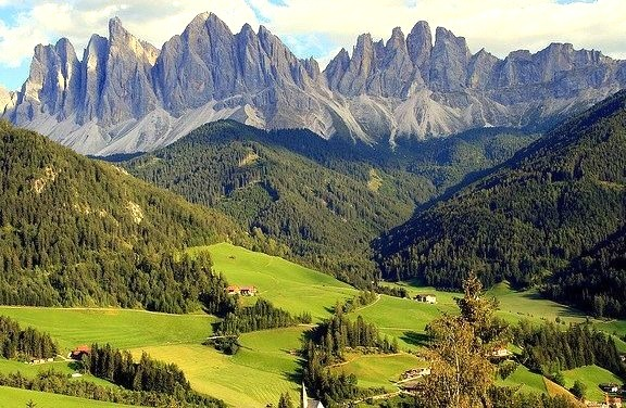 by gigi 62 on Flickr.Santa Maddalena e Odle in Val di Funes - Dolomites, Italy.