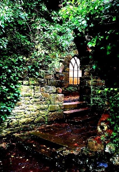 Entryway, Ruthin Castle, United Kingdom