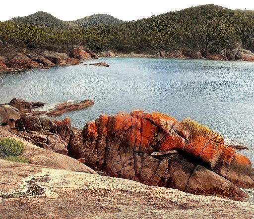by dzittin on Flickr.Sleepy Cove in Freycinet National Park - Tasmania, Australia.