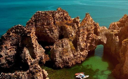 Ponta da Piedade in Algarve, near Portimao, Portugal