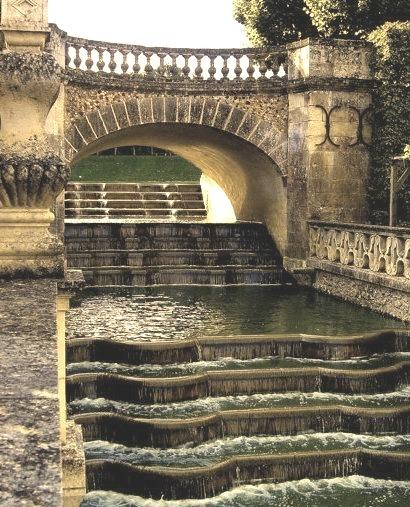 Waterfall Gardens, Villandry, France