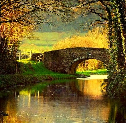 Brecon Canal, Monmouthshire, Wales