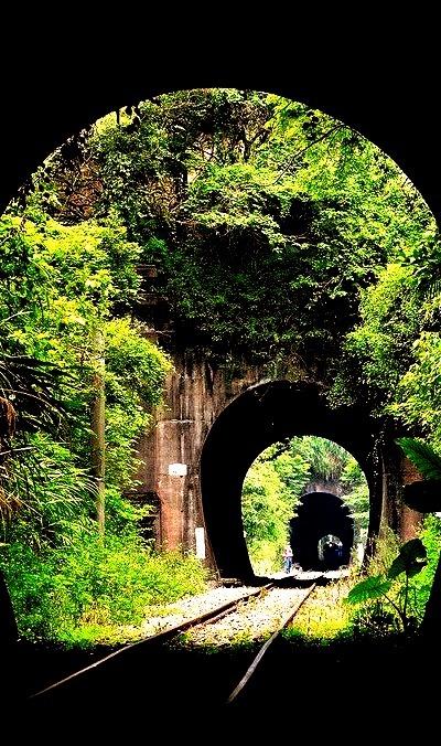 Triple Railroad Tunnel, Xiapu, China