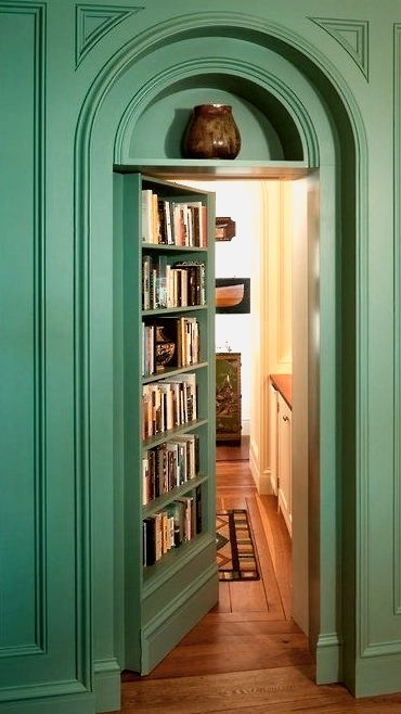 Secret Bookcase Room, New Hampshire