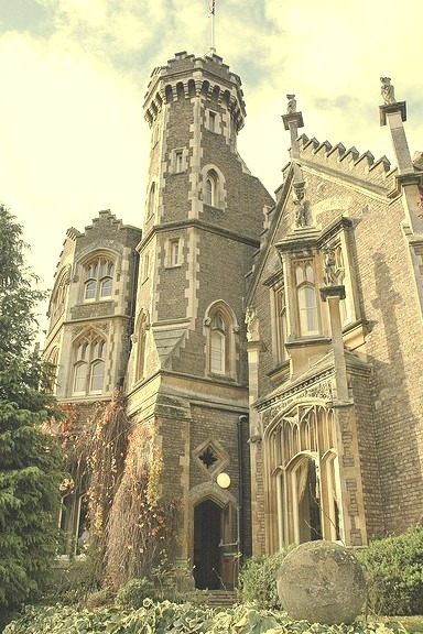 Oakley Court, often used as a film location, in Berkshire, England