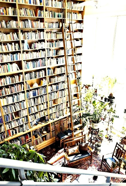 Wall of Books, Toronto, Canada