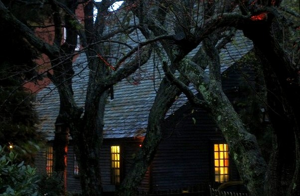 Halloween at The Witch House in Salem, Massachusetts, USA