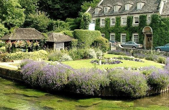The Swan Hotel in Bibury, England