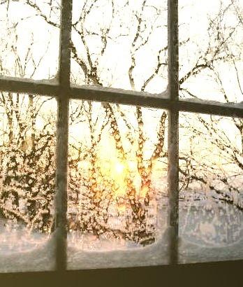 December Sunset, Woodstock, Vermont