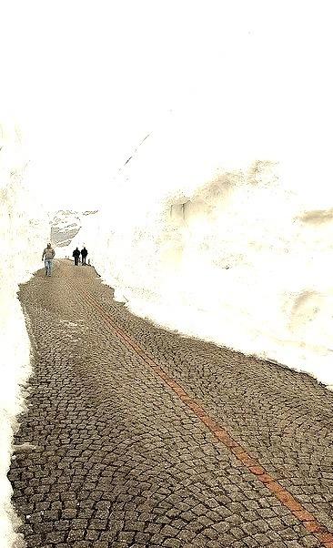 St. Gotthard Pass in Ticino, Switzerland