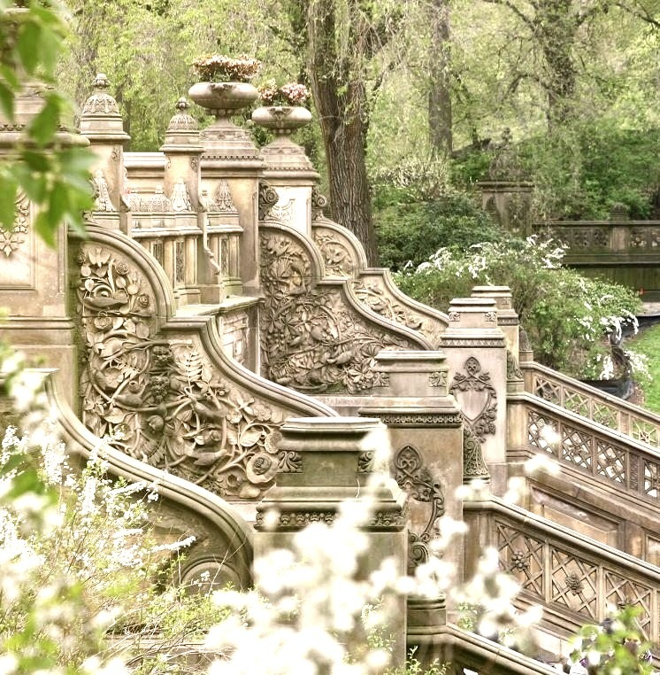 Stairway, Central Park, New York City