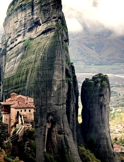 Rousanou Monastery, Meteora, Greece
