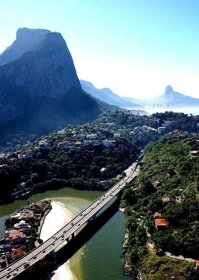 Barra da Tijuca District in Rio de Janeiro / Brazil