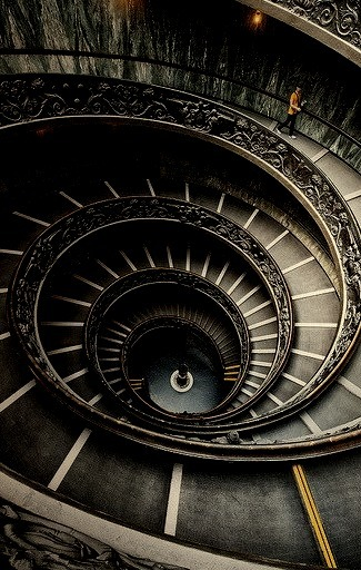 Downward Spiral, Vatican Museum